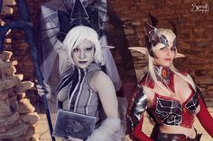 From Lineage 2Cosplayers: RenePolumorfous Ailiroy CreationsPhotographer: SpirosK photographyMake up Artists: Xenia K. Μake Up/SFX Artist