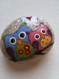 images painted rocks - Google Search
