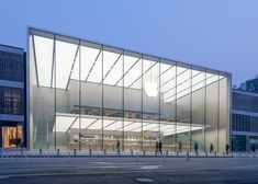 Foster + Partners Apple store in Hangzhou, China