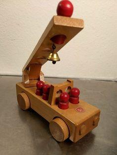 Konrad Keller Feuerwehr 60er - 70er Jahre in Berlin Wooden Toys, Berlin, Basement, Fire Department, Wooden Toy Plans, Wood Toys, Woodworking Toys