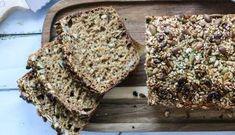 SPIS MAGEN FLAT | brød Scones, Food Inspiration, Banana Bread, Nom Nom, Food And Drink, Healthy Recipes, Healthy Food, Flats, Snacks