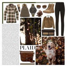 """""""Autumn Plaid Inspiration"""" by queen-seraphine ❤ liked on Polyvore featuring Yves Saint Laurent, Mountain Khakis, Yeezy by Kanye West, Lucky Brand, Laura Mercier, Olivia Burton, MANGO, Ray-Ban, Aesop and plaid"""