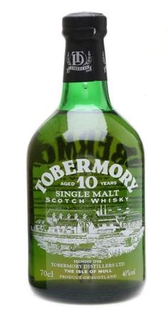 Tobermory 10 yo Single Malt Scotch whisky - official bottling from 90s