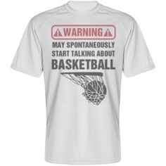 Warning may talk about basketball