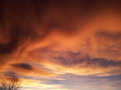 Amazing Golden sky!
