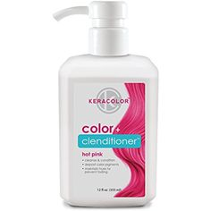 Keracolor Color   Clenditioner (Hot Pink) 12oz >>> For more information, visit image link. (This is an affiliate link) #HairCare