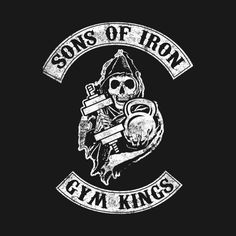 Check out this awesome Sons Of Iron #Gym Kings #Bodybuilding #Shirt @ https://www.teepublic.com/t-shirt/241241-sons-of-iron-gym-kings-bodybuilding?aff_store_referral_id=756