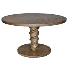 Oak Screw Table | From a unique collection of antique and modern dining room tables at http://www.1stdibs.com/furniture/tables/dining-room-tables/