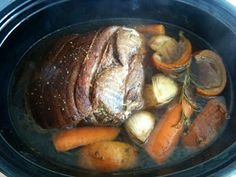 how to eat properly: slow cooked pork with ras al hanout, rosemary and salt cured orange