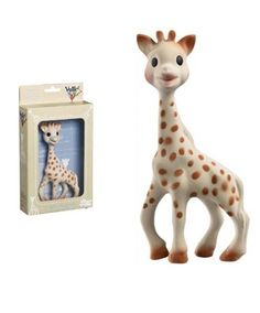 Sophie the Giraffe- This was far and away Sawyer's Favorite toy during his first year!  And of course a great teether!