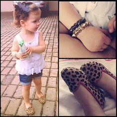 I don't like shorts personally or animal print stuff, but my toddler girl would look adorable in this!