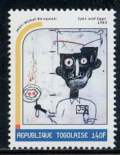 Jean-Michel Basquiat stamp