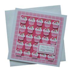 Handmade Cupcakes Birthday Card
