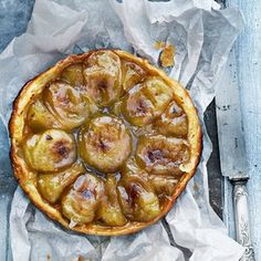 Classic desserts including lemon tart, creme brulee, souffle aux pistaches  and tarte tatin.