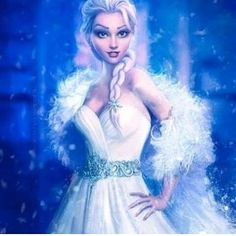 If Elsa was dressed like that, I think Frozen would be even better.