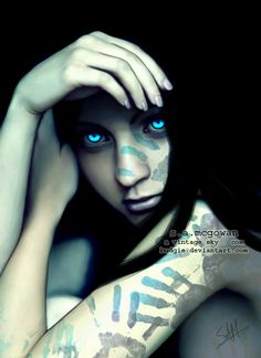 We leave our prints on everyone we meet. WOW those eyes leave imprints on your soul