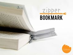 DIY Tutorial: Zipper Bookmark | Make this simple bookmark in UNDER ONE MINUTE | onelmon