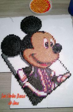 Mickey from Kingdom Hearts Hama Beads by jiji150 on deviantart