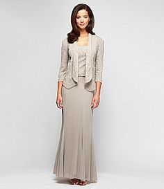 67ee641868 Alex Evenings Collared Jacket Dress  Dillards