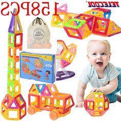 37.99$  Buy here - https://alitems.com/g/1e8d114494b01f4c715516525dc3e8/?i=5&ulp=https%3A%2F%2Fwww.aliexpress.com%2Fitem%2FMagnetic-Building-Blocks-Toys-Mini-158-PCS-DIY-Set-Inspire-Adult-Kids-Educational-Construction-Designer-Toy%2F32686883541.html - Magnetic Designer Blocks Set Mini 158 PCS DIY Set Model & Building Toy Plastic Magnetic Blocks TELECOOL Brand 37.99$