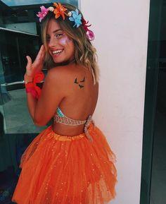 Idea for Moana for Halloween Rave Festival, Festival Looks, Festival Wear, Festival Outfits, Festival Fashion, Group Halloween, Cute Halloween Costumes, Halloween Disfraces, Tumblr Girls