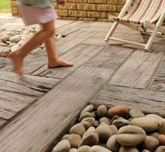 take a look at our amazing page all about paving. Paving Edging, Garden Paving, Garden Steps, Paving Stones, Garden Bed, Stepping Stones, Seaside Garden, Coastal Gardens, Beach Gardens