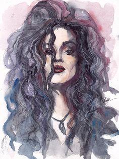 Bellatrix Lestrange by NastyaKask.deviantart.com on @deviantART