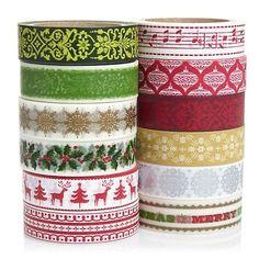 washi tape for Christmas decoration e-mail: sale8@packingtape.cn