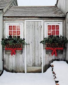 cute windowbox decoration