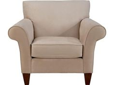 Shop for La-Z-Boy Stationary Chair, 023465, and other Living Room Chairs at Mooradians Furniture, Inc. in Albany, NY. Decorative wood legs, welt trim, polyurethane foam, loose seat, tight back.