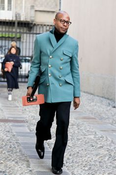 COOL CHIC STYLE to dress italian: Streetfashion Milan Menswear FW2012