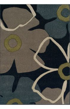 Dalyn Radiance RD105 Black Rug | Contemporary Rugs