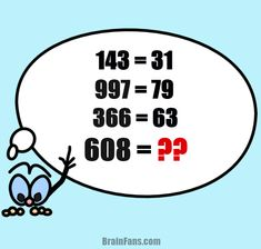 Are you a genius? Can you solve this hard math puzzle? Just look at the equations and find a pattern to solve the last one. And remember: You are the genius! Please share and like:)