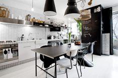 Apartamento de 39 m2 en Vasastan  #interiorismo #nórdico #decoración