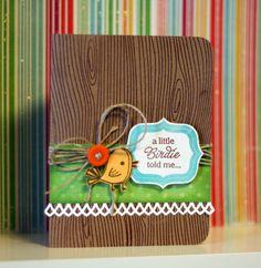 A Little Birdie Told Me - Scrapbook.com