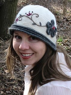 Ravelry: Cloche Encounter pattern by Caroline Steinford, knit hat pattern