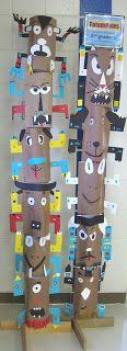 ABC School Art: Animal Totems - (3rd)