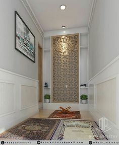 Place for Salat (Namaz / نماز) Home Room Design, Home Design Plans, Home Interior Design, House Design, Islamic Architecture, Interior Architecture, Prayer Corner, Plafond Design, Islamic Decor