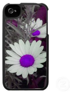 #Zazzle                   #iPhone Case              #White #Daisy #(w/purple) #iPhone #case #from #Zazzle.com                     White Daisy (w/purple) iPhone 4 case from Zazzle.com                                                    http://www.seapai.com/product.aspx?PID=1689784