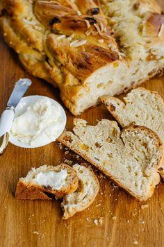 Czech Braided Bread -- Vanochka (Houska)