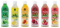Refresco de aloe vera Tropicalfoods, compañía que comercializa y distribuye bebidas de aloe vera con un 30 % de aloe,