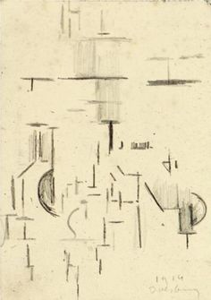 Composition (Study), 1930 by Theo van Doesburg. Piet Mondrian, Abstract Expressionism Art, Abstract Art, Theo Van Doesburg, Research Images, Painting Collage, Paintings, Concrete Art, Art Database