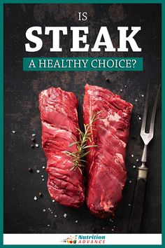 Is steak a healthy choice? Here's an evidence-based guide to the topic, focusing on both sides of the story. And evidence over opinion. #steak #meat #nutrition #beef