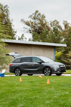 The 2019 Honda Odyssey was built knowing that family time is always a priority, so we included tons of cargo room and adjustable seating. Big Bertha, Small Accent Chairs, Honda S, Honda Odyssey, Jeep Cars, Car Logos, Family Adventure, Reading Chairs, Building