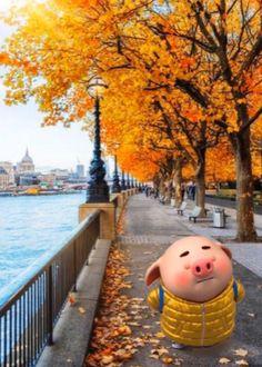 Pig Wallpaper, Cellphone Wallpaper, This Little Piggy, Little Pigs, Pig Drawing, Pig Illustration, Cute Piggies, Piglets, Beautiful Wallpaper
