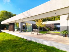 A sympathetic layout, innovative glazing and matched materials can bring nature indoors and turn your garden into a true living area. #granddesigns #garden #outdoor #improvements #spaces