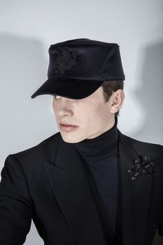 DW 358 Aw17, Captain Hat, Ready To Wear, Hats, How To Wear, Passion, Collection, Design, Haute Couture
