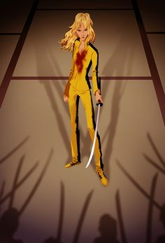 The Bride from Kill Bill, by Edward Pun  https://www.facebook.com/EdwardPunArt