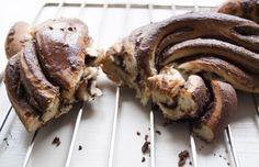 Nutella-Hefezopf - Schritt für Schritt