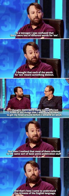 """When David Mitchell turned up and was more David Mitchell-esque that you could possibly have hoped. 